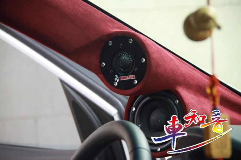 现代全新胜达音响改装之豪客顶级三分频音响演绎出高品质声音