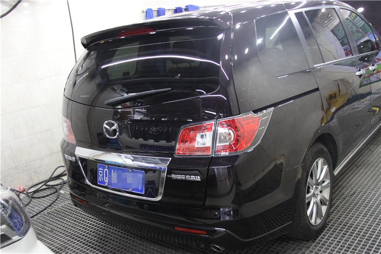 【北京车知音】马自达8改装丹麦绅士宝RX+KICKER CVR超低音+全车隔音